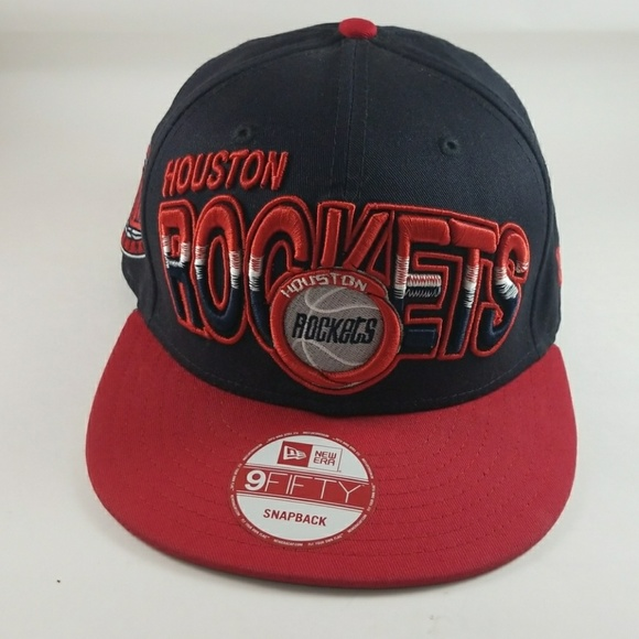 best service 43470 dccc7 LIKE NEW Houston Rockets Snapback Hat OS